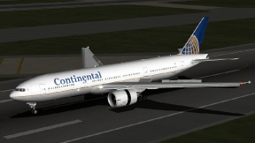 Continental Airlines Boeing 777-224ER