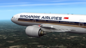 Singapore Airlines Boeing 777-212ER