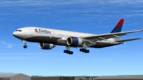 Delta Air Lines 2003 Colors Boeing 777-232ER